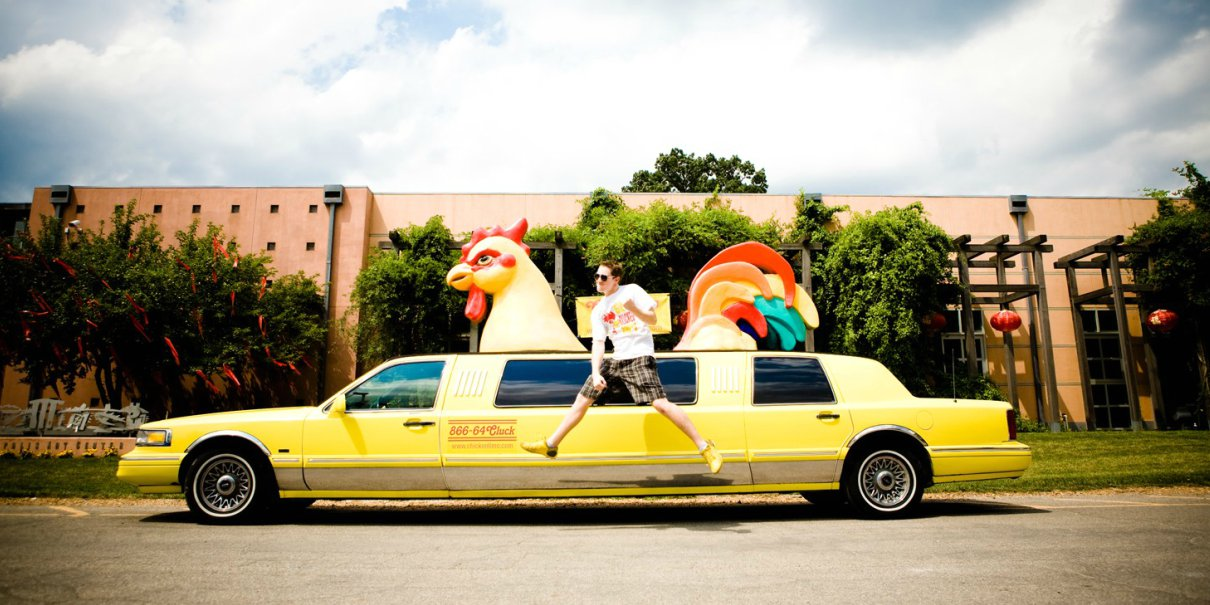 John Barker and Chicken Limo
