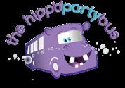 Hippo Party Bus Logo