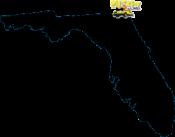 Chicken Limo Jax Map